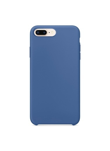 Bludfire Apple iPhone 7 Plus/8 Plus Kılıf Liquid Lansman Silikon Çini Mavisi Mavi